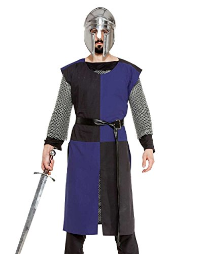 Medieval Renaissance Pirate Viking LARP Mens Costume Alexander Nevsky Knight Tabard (Medium)]()