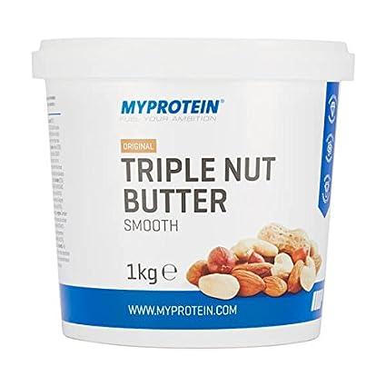 Myprotein Triple Nut Butter Mantequilla de Mezcla de Frutos Secos - 1000 gr