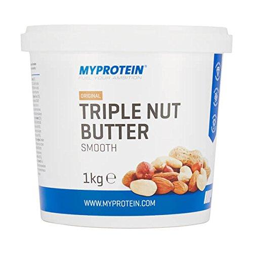 Myprotein Triple Nut Butter Mantequilla de Mezcla de Frutos Secos - 1000 gr: Amazon.es: Salud y cuidado personal