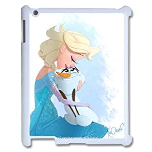 Disney Frozen Elsa Anna Olaf For Ipad 2/3/4 Case TPUKO-Q829321