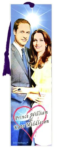 Prince William and Kate Middleton Bookmark