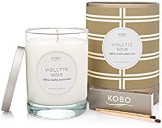 product image for Kobo Candles Kobo Soy Candle, Violette Noir