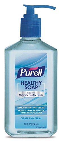 PURELL Hand Soap HEALTHY SOAP Clean & Fresh (Pack of 6)