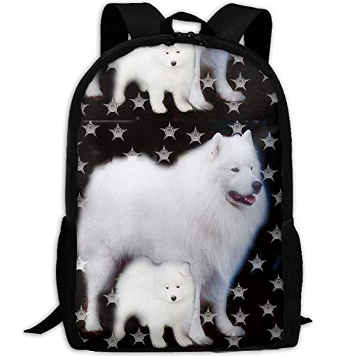 Sunmoonet Stylish Stars Dog Sammies Laptop Backpack School Backpack Bookbags College Bags Daypack