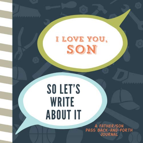 Father/Son Pass Back-and-Forth - Journal Back