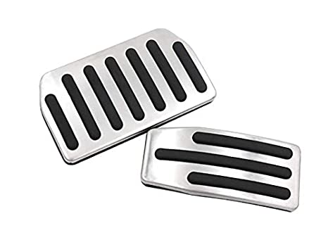 Auto Foot Pedal Pads Pedal Covers for Tesla Model 3 Accessories etopmia Model 3 Performance Pedal Set