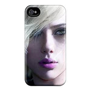 High Quality Shock Absorbing Case For Iphone 4/4s-celebrity Scarlett Johansson