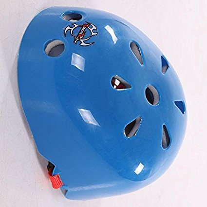 NUMBERNINE, Kid Boy Bicycle Skate Helmet Sports Cycling Safety Head Protective Skateboard BH,bike helmet kids (Blue)