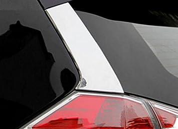 High Flying Für X Trail T32 2014 2019 Exterieur Hintere Tür Stylingleisten Verchromt Abs Kunststoff Auto