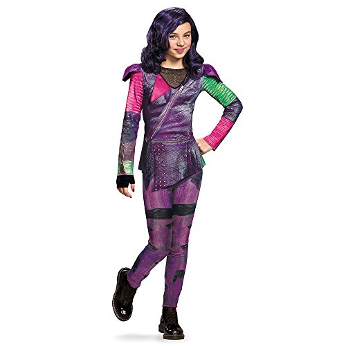 Disguise 88112K Mal Isle Of The Lost Classic Costume, Medium (7-8) (Creative Cute Women Halloween Costumes)
