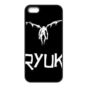 Death Note 1 caso del iPhone 5 5s teléfono celular funda Negro caja del teléfono celular Funda Cubierta EEECBCAAB05948