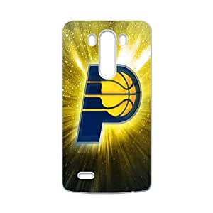 Indiana Pacers NBA White Phone Case for LG G3 Case