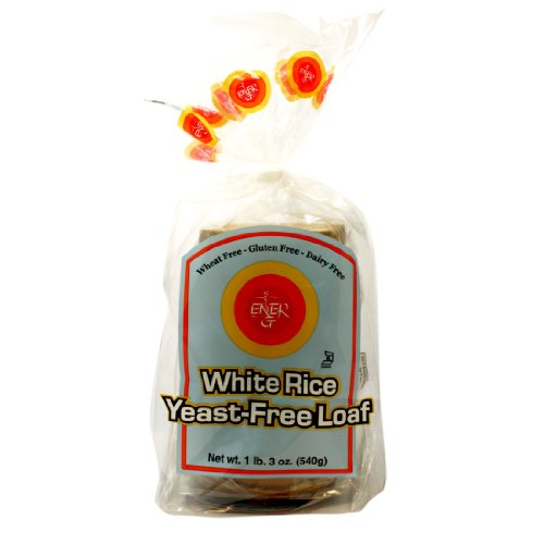 Ener-G Foods Yeast-Free White Rice Loaf, 19-Ounce Units (Pack of -