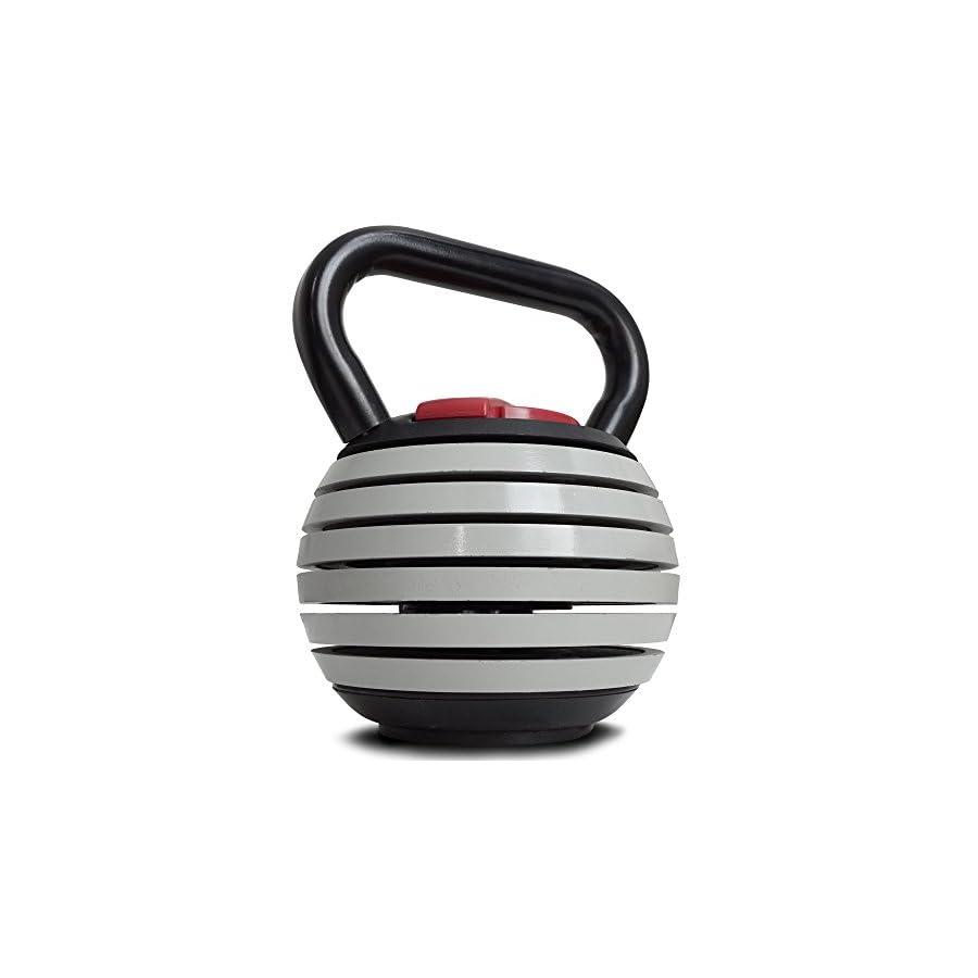 Titan Fitness 10 40 lb Adjustable Kettlebell Weight Lifting Swing Workout