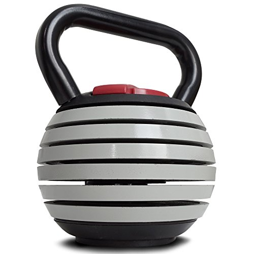 Titan Fitness 10 40 lb Adjustable Kettlebell Weight Lifting Swing Workout