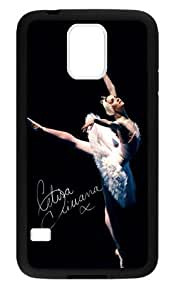 Hoomin Charming Dancing Ballet Beauty Samsung Galaxy S5 Cell Phone Cases Cover Popular Gifts(Laster Technology)