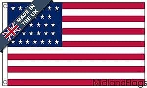 duraflag® EE. UU. 31estrellas bandera de calidad profesional (puerta y Cambiadas)