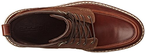 Timberland Mens Britton Hill Moc-toe Boot Impermeabile Al Quarzo Castagna Buttersoft