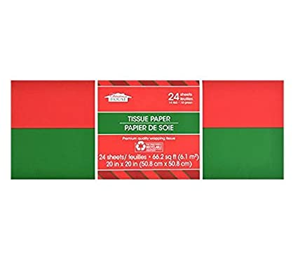 24 red green christmas tissue paper solid colors - Why Are Red And Green Christmas Colors