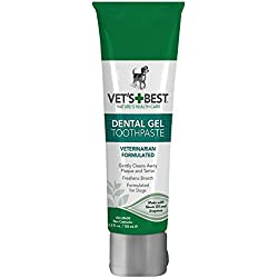 Vet's Best Enzymatic Dental Gel Toothpaste for Dogs, 3.5 oz, USA Made