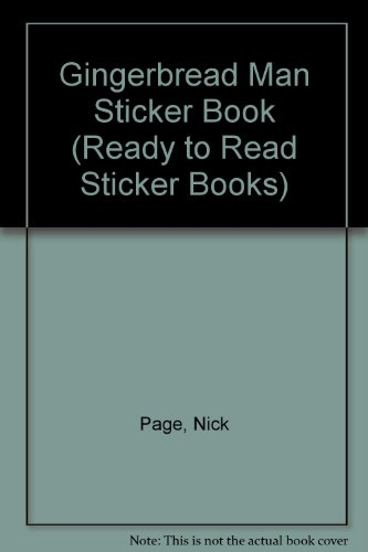 Gingerbread Man Sticker Activity - Gingerbread Man Sticker Book (Ready to Read Sticker Books)
