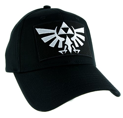 YDS Accessories Wingcrest Hyrule Legend of Zelda Triforce Hat Baseball Cap Gamer Clothing