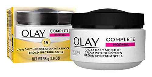 15 Cream (Olay Complete All Day UV Moisture Cream, SPF 15, Normal Skin, 2 Ounce (Pack of 3))