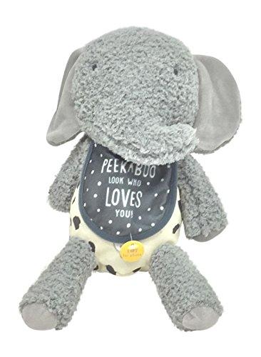 [Hallmark Recordable Plush Peek-A-Boo Elephant] (Peek A-boo Pals)