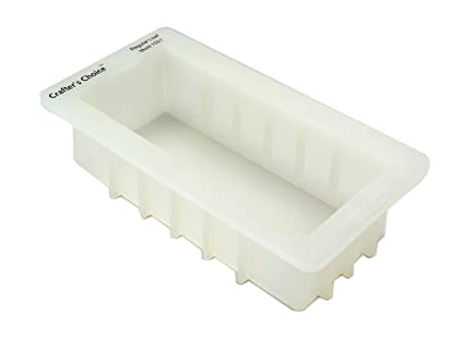 Silicone tray molds for soap