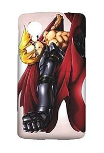 Fullmetal Alchemist Hagane no Renkinjutsushi Edward Elric Snap on Plastic Case Cover Compatible with LG Google Nexus 5 N5