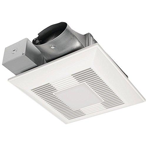 Lighted Bathroom Fan (Panasonic FV-0510VSL1 Whispervalue DC Fan with LED Light)
