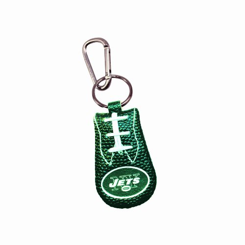 GameWear NFL Football Keychain - New York Jets BLACK
