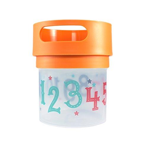 Munchie Mug Snack Cup 12 Oz Orange]()