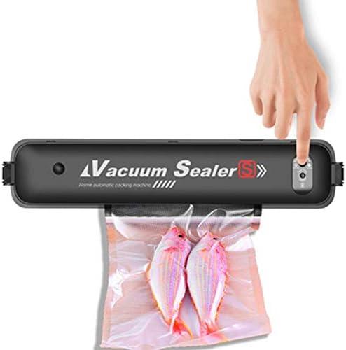 Upgraded Vacuum Sealer Automatic Vacuum Sealing Machine Food Sealers for Food Saver and Sous Vide, LED Indicator Lights, 15pcs Vacuum Sealer Bags