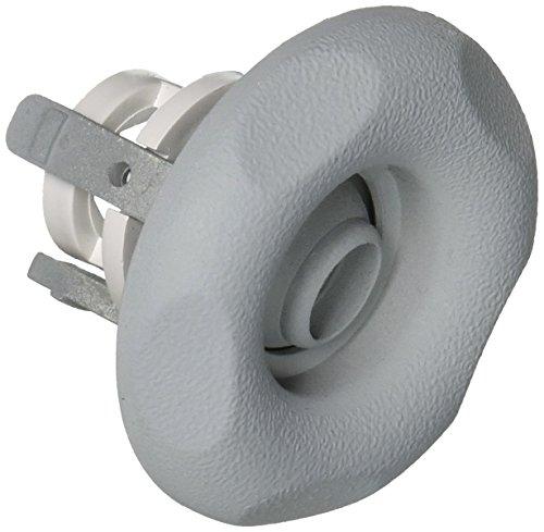Waterway Plastics 806105029621 Internal Scalloped Whirly Gray Adjustable Mini Jet -