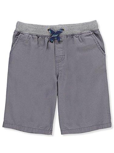 Carter's Boys' 2T-5T Stretch Waist Shorts (4-5, Gray)