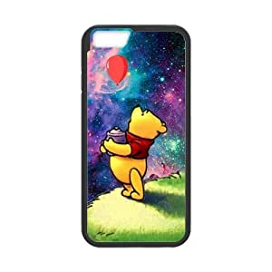 Classic Style Custom Silicone Hard Rubber Protector Case for iPhone6(4.7inch) - Winnie the Pooh