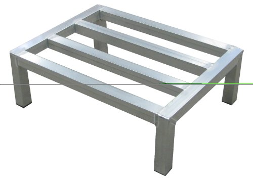 Lockwood Dunnage Rack - Lockwood DR-2448-12 Aluminum Dunnage Rack, 2000 lbs Load Capacity, 48