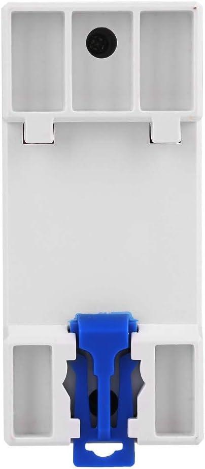 R/étro/éclairage LCD 5-32A 230V 50Hz LCD Montage sur Rail DIN Compteur d/énergie monophas/é Jadeshay Compteur d/énergie Watt KWh