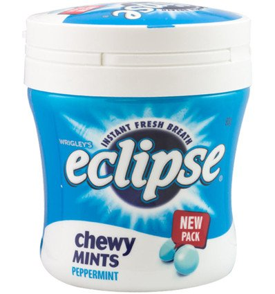 Eclipse Chewy Peppermint Bottle 93g x 6