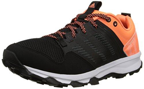 adidas Performance Women's Kanadia 7 TR W Trail Running Shoe, Core Black/Core Black/Flash Orange, 7.5 M US