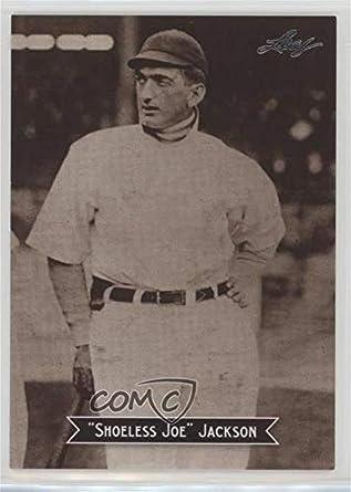 Amazoncom Joe Jackson Baseball Card 2010 Leaf Sports