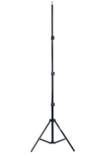 Phot-R Professional Photography 2m Adjustable 4-Section Photo Studio Lightweight Aluminium Light Stand