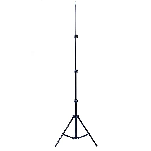 Phot-R Professional Photography 2m Adjustable 4-Section Photo Studio Lightweight Aluminium Light Stand