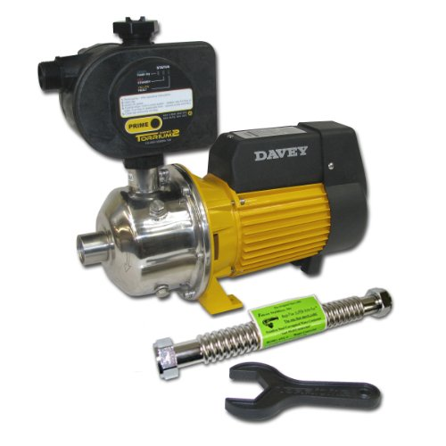 Davey Water Products BT14-45T2-USA Home Pressure Booster Pump with Torrium II Controller by Davey Water Products