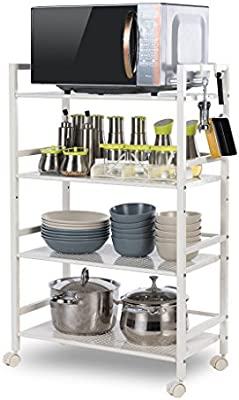 Best Shelves- Tubo Cuadrado de ensanche 3/4/5 Tier Rack ...