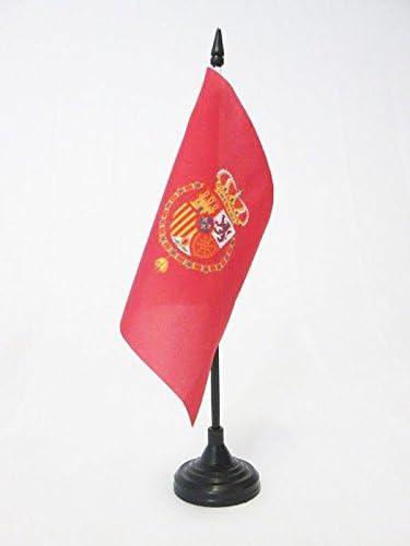 AZ FLAG Bandera de Mesa del ESTANDARTE del Rey Felipe Vi DE ESPAÑA ...
