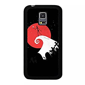 Samsung Galaxy S5 Mini Cover Case,The Nightmare Before Christmas Phone Case Personal Animation Design Best Premium Mobile Cover with Classic The Nightmare Before Christmas Pattern