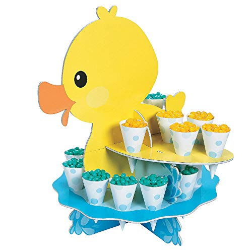 - Fun Express Rubber Ducky Treat Stand W/Cones