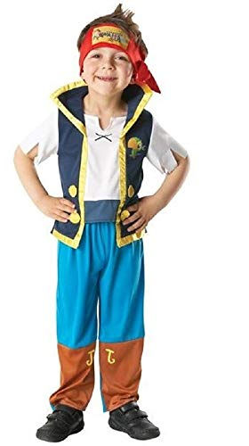 Official Licensed Disney Girls Boys Izzy or Jake and The Neverland Pirates Book Day Week Halloween Fancy Dress Costume Outfit (18-24 Months]()
